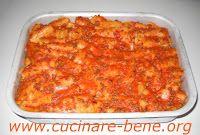 pasta al forno con polpettine