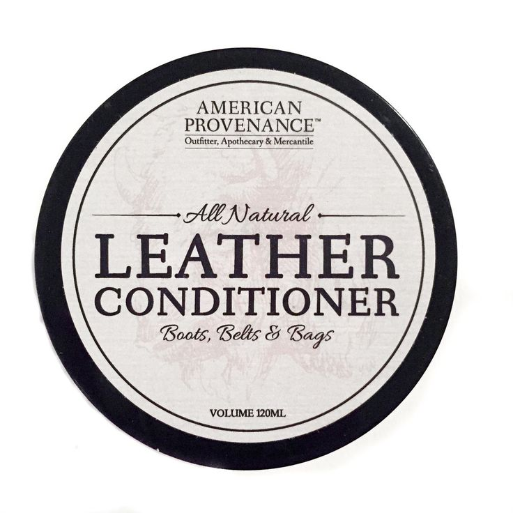 American Provenance Natural Leather Conditioner