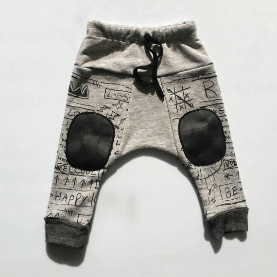 Baby harem pant -  Toddler boy pant - Boys harem pants - Rock & Roll kids fashion - Boys with style - For Tic Tac lovers