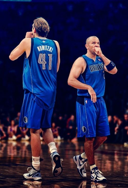 Jason Kidd Dirk Nowitzki Dallas Mavericks