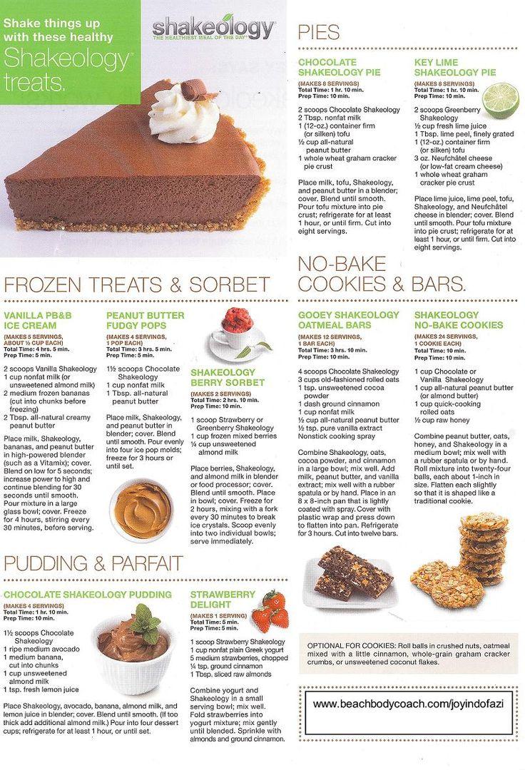 113 best Shakeology Shakes & Food Recipes images on Pinterest ...