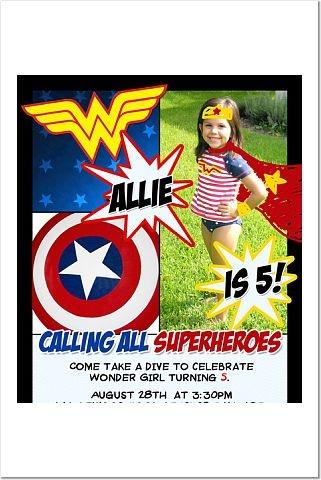 Dear Lord...: Wonder Woman Birthday Party