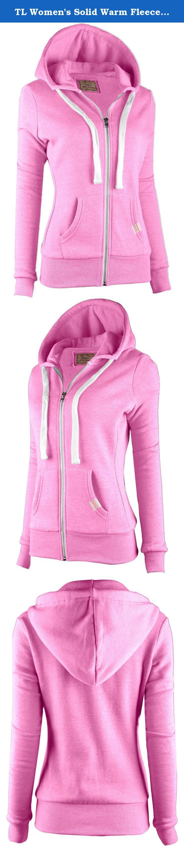 """TL Women's Solid Warm Fleece Active Long Casual Zip Up Hoodie Sweater Jackets J415 PINK L. Introducing newly arrived Heavy Inner Fleece hoodie jacket is ESSENTIAL STATEMENT PIECE for your wardrobe!! YOU MUST HAVE IT!!MUST-HAVE HOODIE ZIP-UPs FOR THE SEASON - We all need these warm hoodie zip up around this time. Why not grab Top Legging Hoodie Zip Up now? :) SO MANY """"COLORS"""" TO CHOOSE FROM !! - Score your favorite color and style and the good new for fashion owls! Watch out for newer…"""