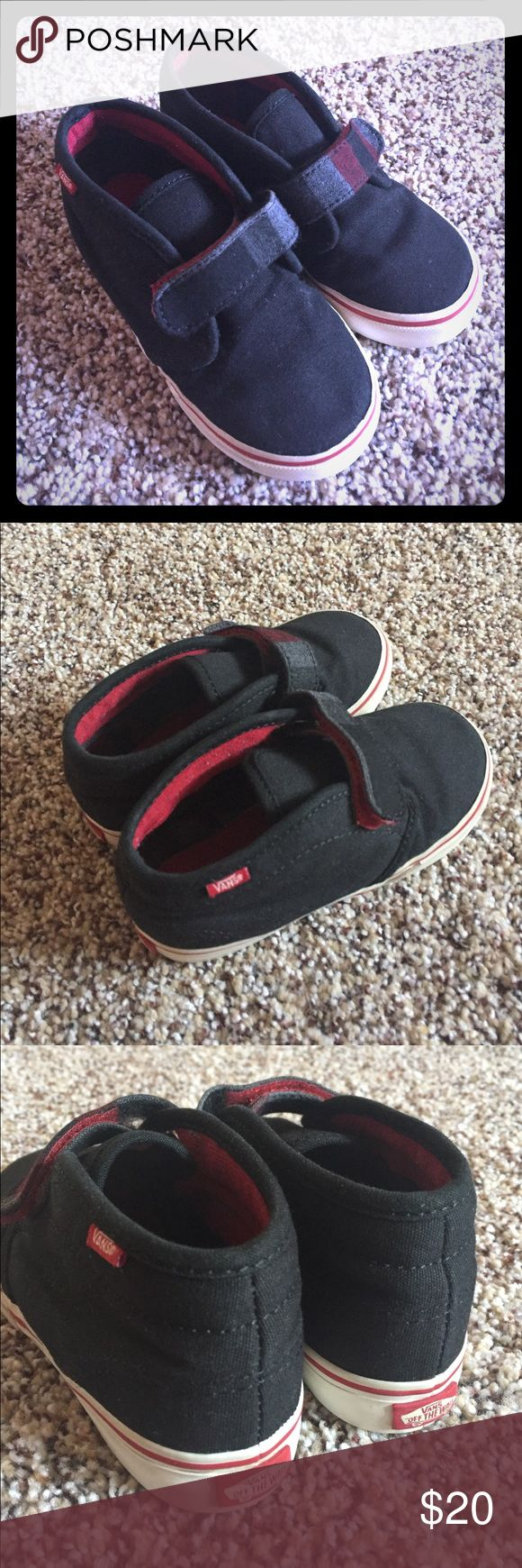 Toddler boy Vans Very good condition! Have been worn few times Vans Shoes Sneakers