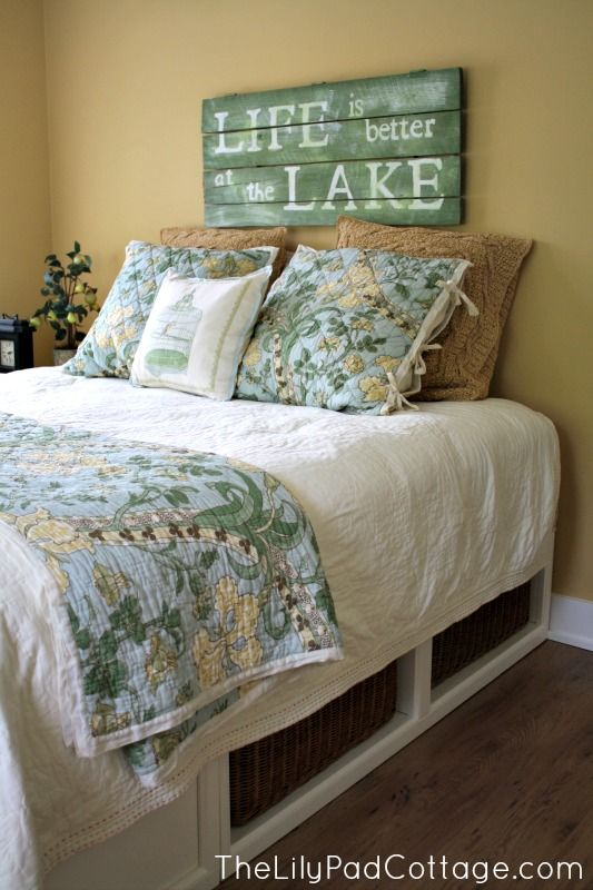 Guest Room Decor My Mom S House Beachy Coastal Love Bedroom Lake
