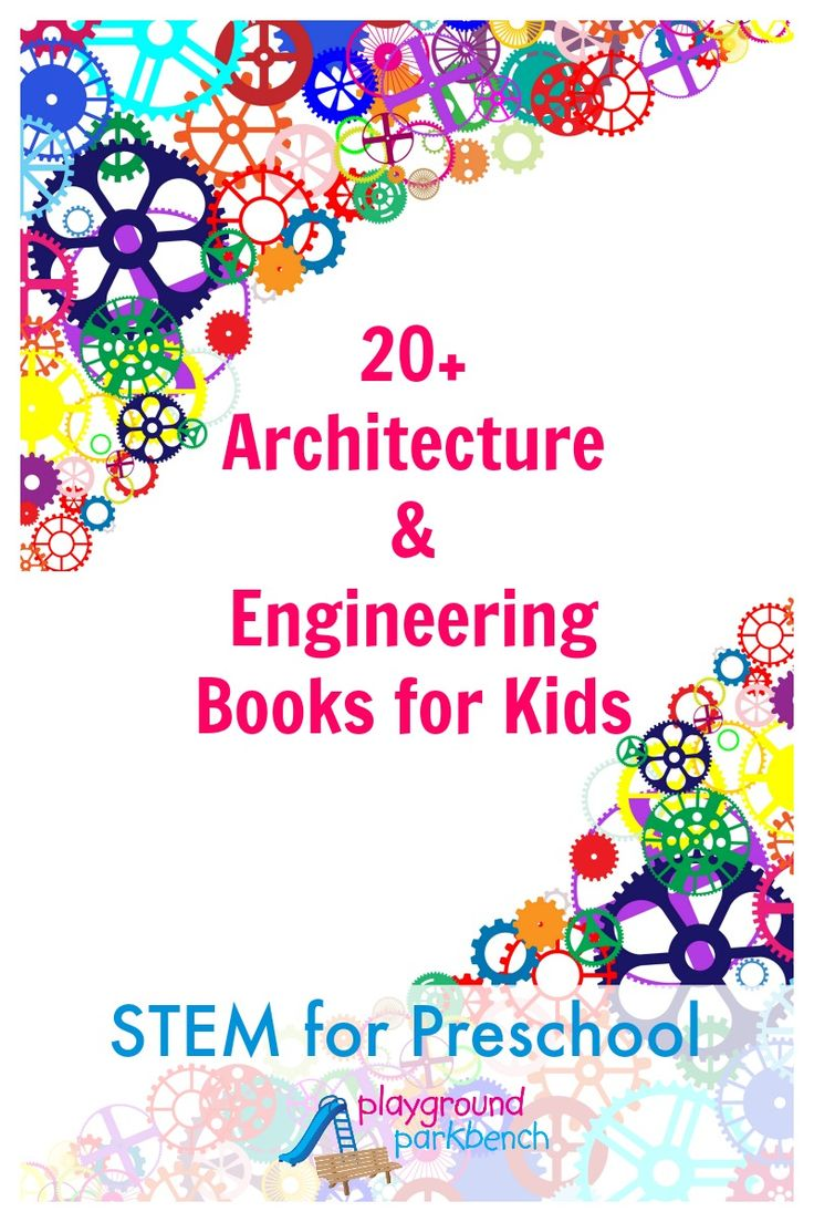 20+ Books About Architecture and Engineering for Kids, the first post in our latest series for Preschool, featuring STEM fun with books, crafts, activities and challenges for your toddler and preschooler