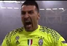 """Juventus,Buffon:""""Grande delusione"""" gigi buffon alla fine della partita contro il real madrid è amareggiato. piange e sconsolato. non riesce a credere di non essre riuscito a vincere la champions league. c'erano tutti i presupposti per #buffon #juventus #champions #calcio #seriea"""