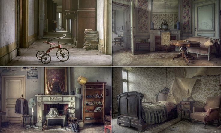 Inside the abandoned Belgian mansion brimming with expensive furniture http://dailym.ai/J0T6Xg