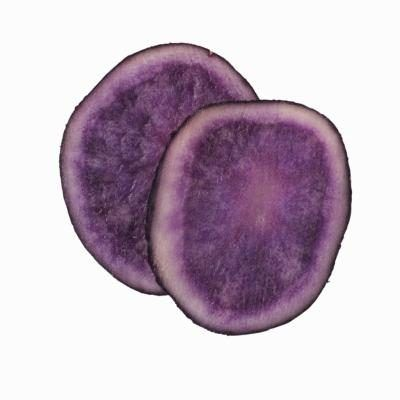 Long dress purple potatoes