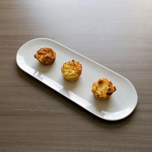 Mini bloemkool snacks - slechts 1 g koolhydraten per mini muffin!