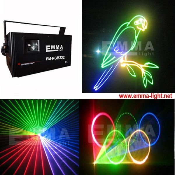 357.00$  Buy now - http://alierk.worldwells.pw/go.php?t=32428974106 - 1w RGB LED Light DMX Lighting Laser Projector Stage Party Show Disco AC 90-240V (US plug ) 357.00$