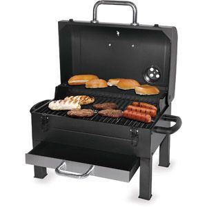 Kingsford 325-sq in Portable Charcoal Grill, Black