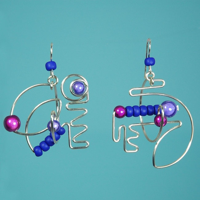 West Coast Silver Suspensions::Earrings::Originals 'The Mobile'