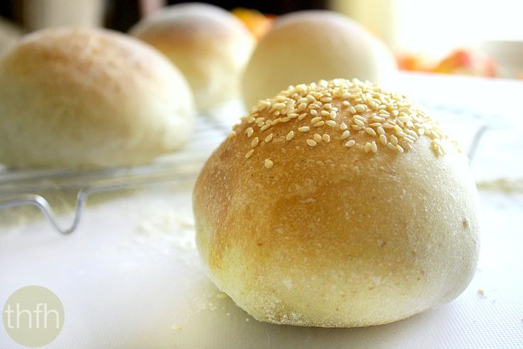 """How To Make Vegan """"Hamburger"""" Buns 