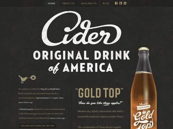 Showcase of Retro Styled Website Designs