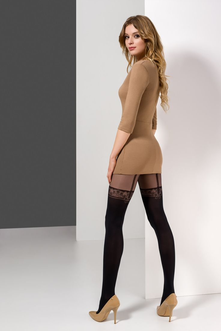 ILIA 28 #tights #pattern #woman #legs #legwear #stockingimitation #rajstopy #wzorzyste #kobieta