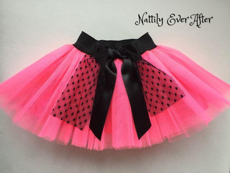 Baby Girl Salmon Tutu Skirt First Birthday By NattilyEverAfter