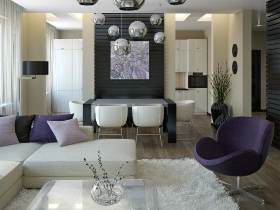 17 Best Images About Living Room Ideas On Pinterest | The Purple