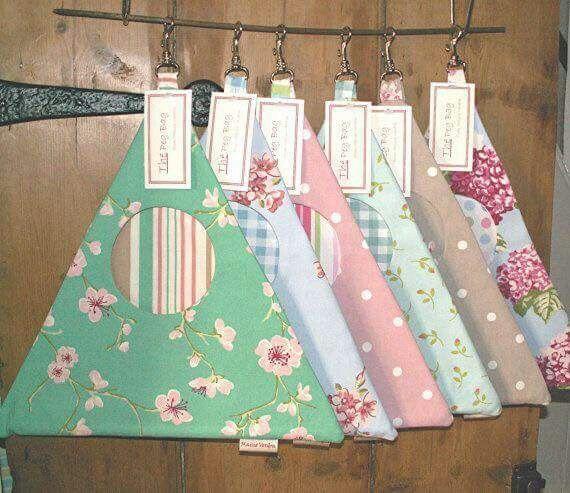 Bolsa para pinzas de ropa