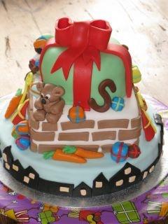 Sinterklaas cake (typical Dutch)