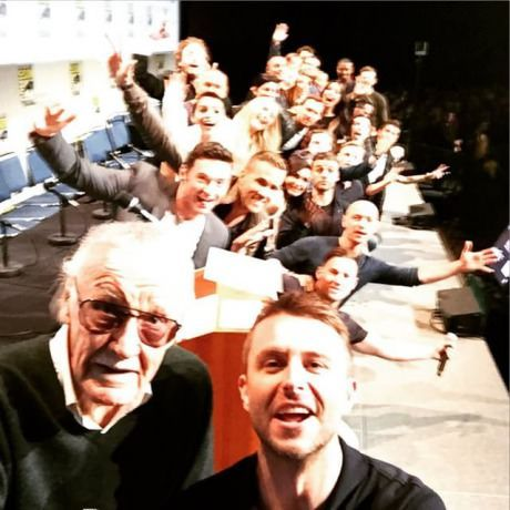 Stan Lee Has Taken The Most Epic Superhero Selfie Ever At Comic-Con