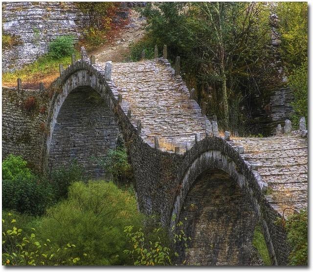 Another 19th century Greek bridge ~ Giorgos@flikr: Greece Mor Dreams, Bridges Builder, Greece Bridges, Ridecolorfully Greece, Greecemor Dreams, Photos Tags, Greece Ridecolorfully, Giorgos Flikr, Covers Bridges