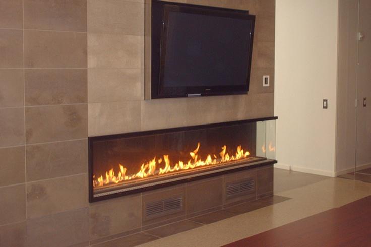 Montigo Custom Corner Fireplace Places Of Fire Linear