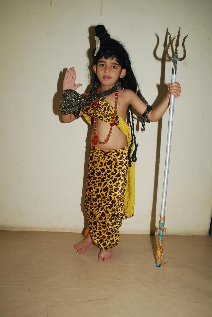 Fancy dress Competition held at CPS Bhavnagar