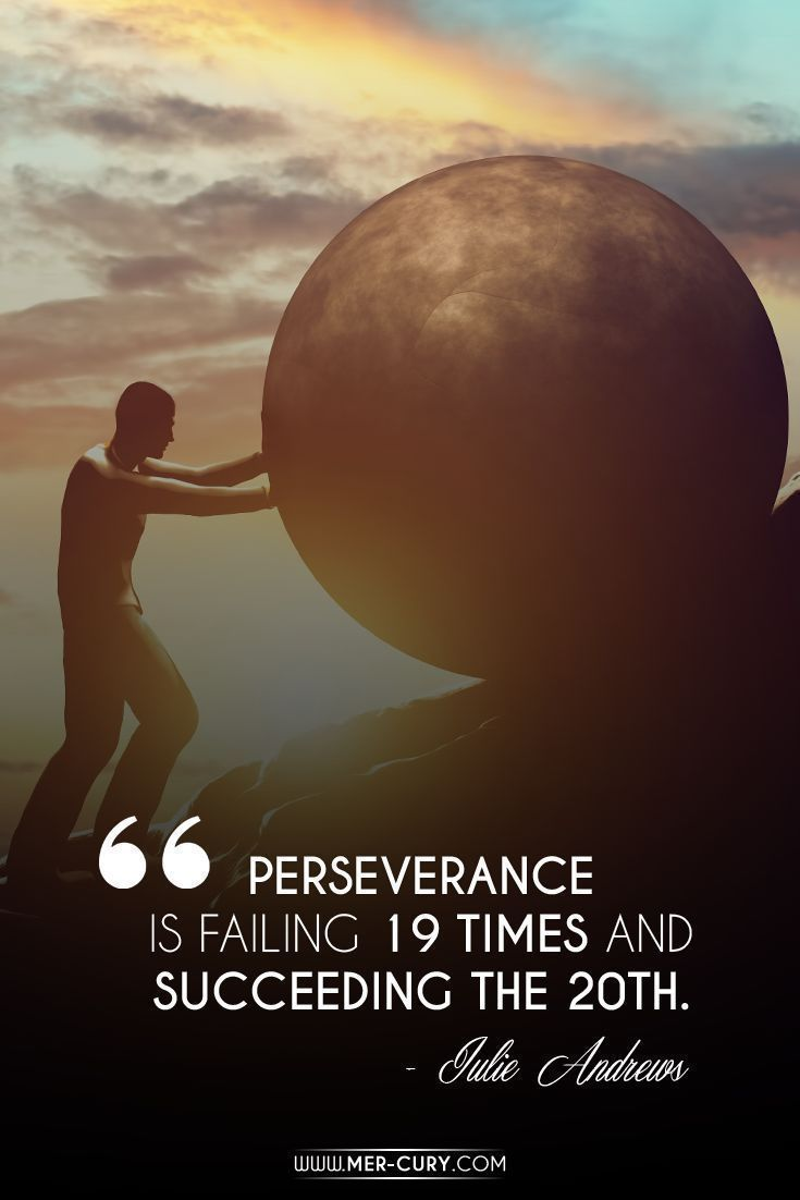Persistence Motivational Quotes: 25+ Best Perseverance Quotes On Pinterest