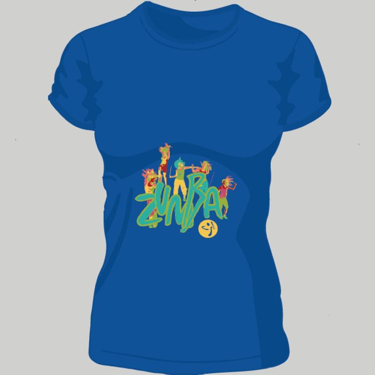Zumba dancing; t-shirt unisex, woman, child, 9 colors, several sizes; shipping worldwide; 17€ + shipping rates