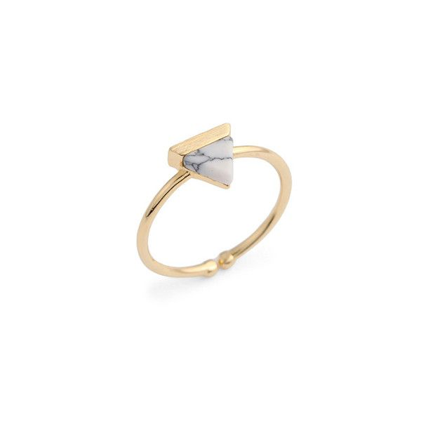 Terrene Triangle Ring