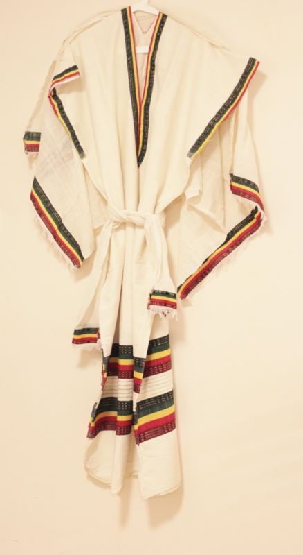 Ethiopian Coffee Dress with Scarf and Shawl Traditional African Clothing - http://clothing.goshoppins.com/cultural-ethnic/ethiopian-coffee-dress-with-scarf-and-shawl-traditional-african-clothing/