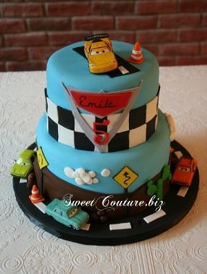 Gâteau Les Bagnoles Cake Cars