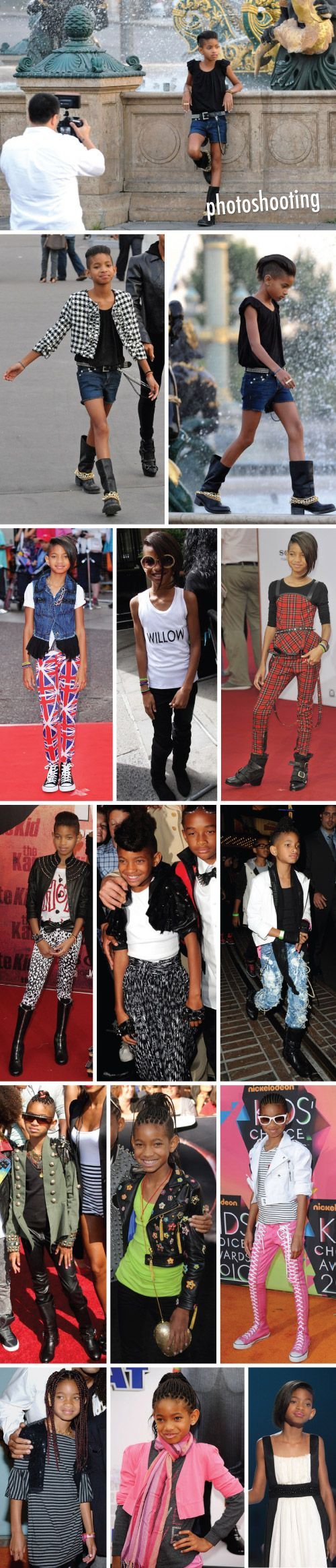 YOUNG FASHIONISTA :: WILLOW SMITH!