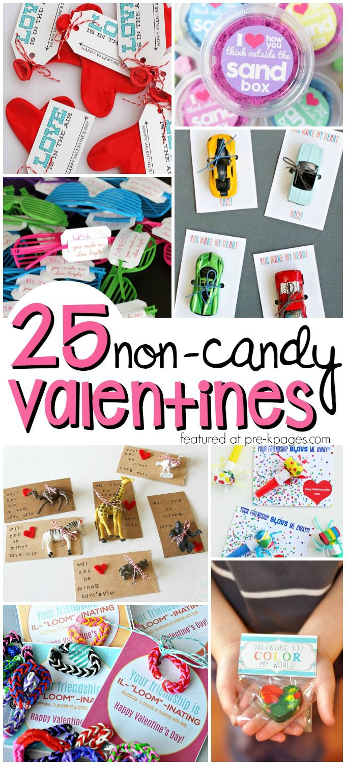 Non Candy Valentines For Kids Valentines Day Theme For Preschool Pinterest Valentines Valentines For Kids And Valentines Day