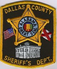 Dallas County Sheriff Department Patch Alabama