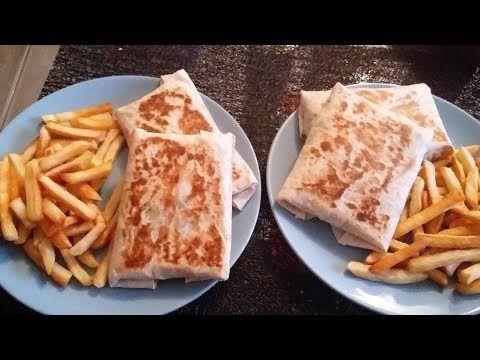 اروع طاكوس منزلي بالكفتة مثل الذي يباع في المطاعم Tacos Maison Youtube Food Breakfast French Toast