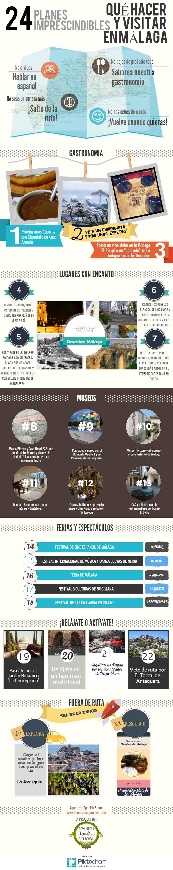 Planes imprescindibles en Málaga provincia. ¿Qué hacer y qué visitar en Málaga?