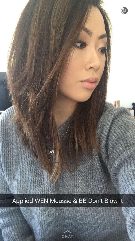 Claire Marshall hair inspo for straight lob