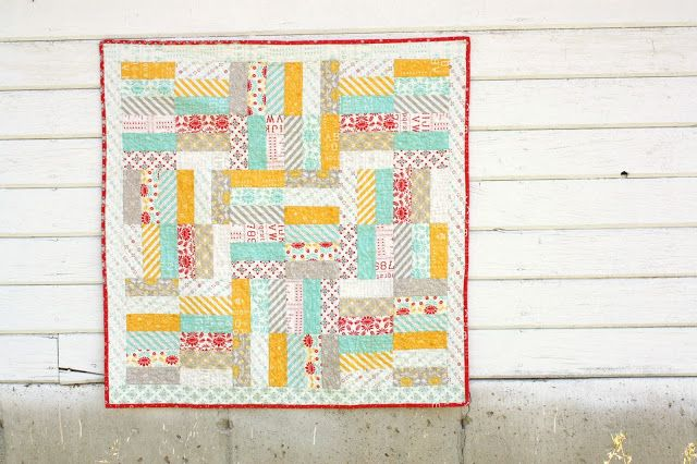 Diary of a Quilter - a quilt blog: Easy Baby Jelly Roll Quit Pattern