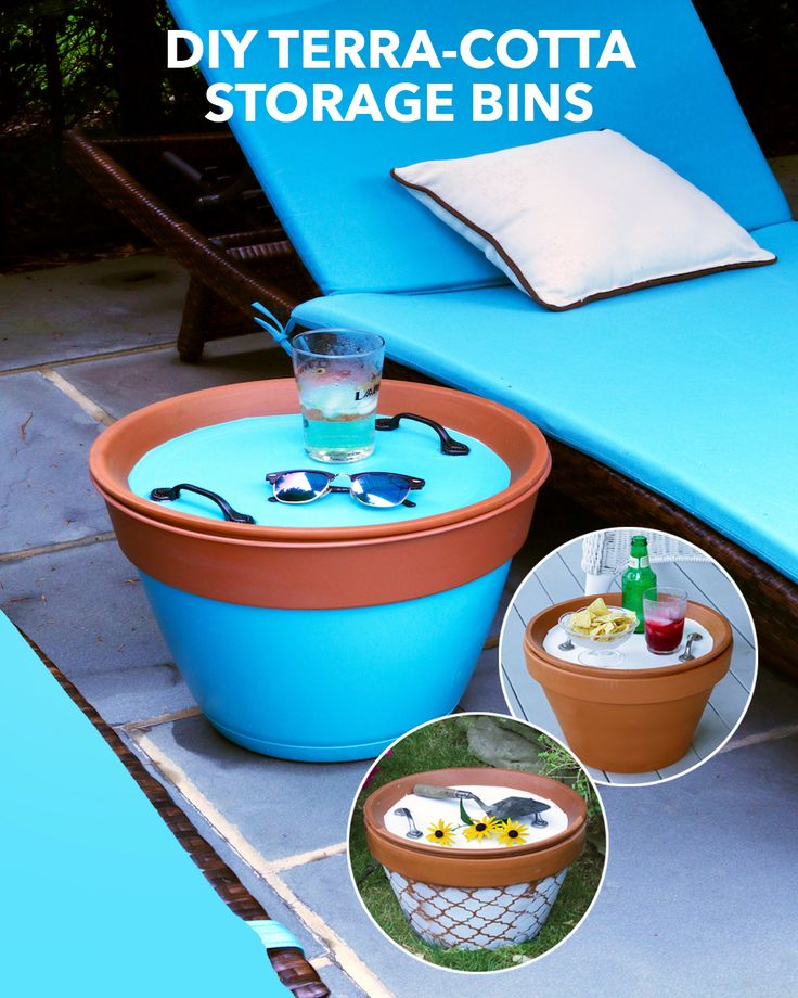 Keep pool essentials, gardening supplies, and other outdoor items neatly organized and moisture-free with this clever DIY.