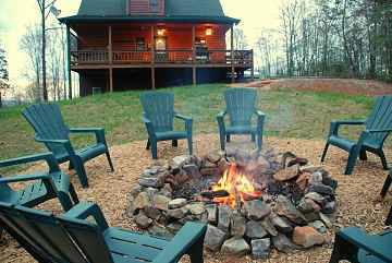 my house will have a camp fire pit so i can make smores anytime i want