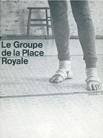Groupe de la Place Royale [affiche]