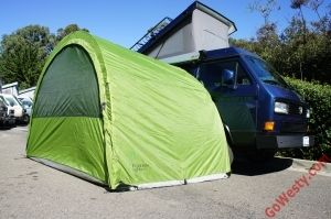 ArcHaus Side Tent - GoWesty Camper Products - parts supplier for VW Vanagon, Eurovan, and Bus