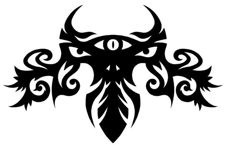 DeviantArt: More Like Tribal Dragon Knight Tattoo by goRillA-iNK
