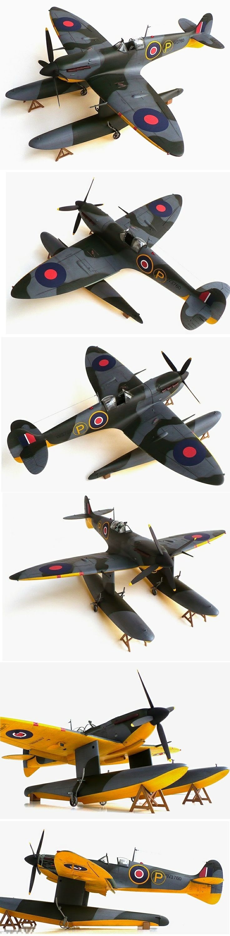 Supermarine Spitfire with floats