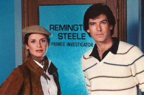 retropopcult: Stephanie Zimbalist & Pierce BrosnanRemington...