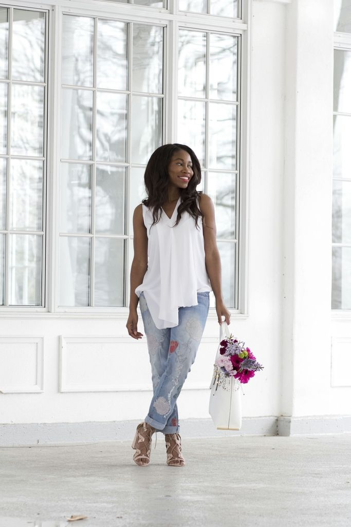 Currently Crushing on Embroidered Jeans