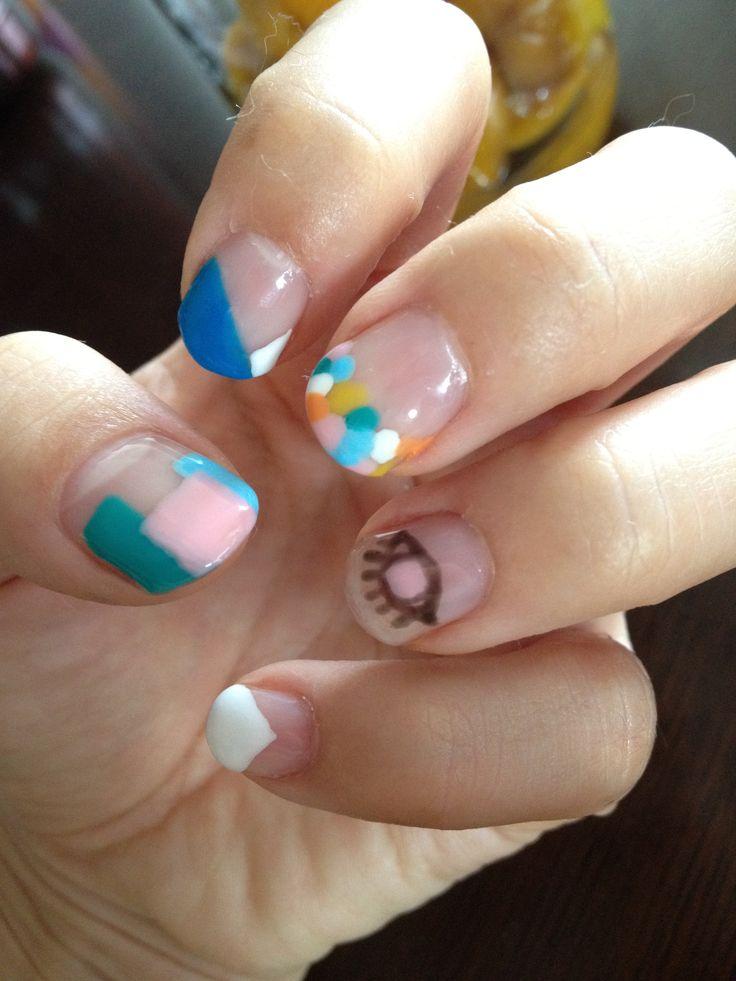 Unique nail practice