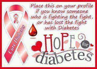 type 2 diabetes awareness ribbons | cure diabetes | Tumblr
